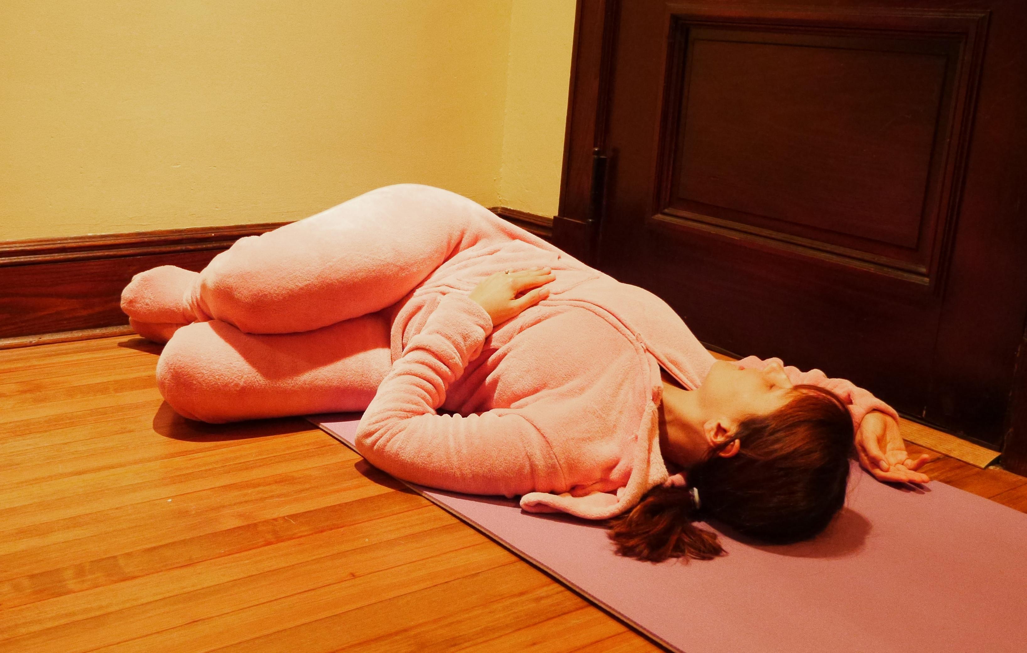 Reclining Twist Yoga