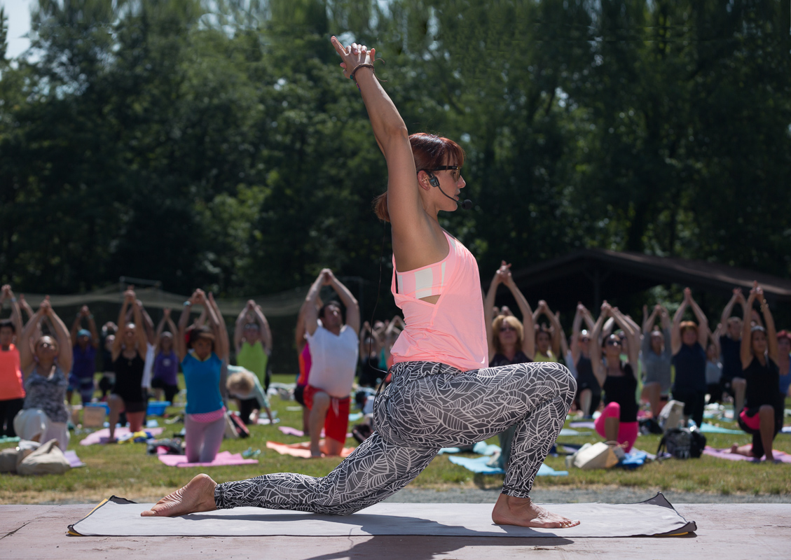Yoga on the Green with Brenda Blanco