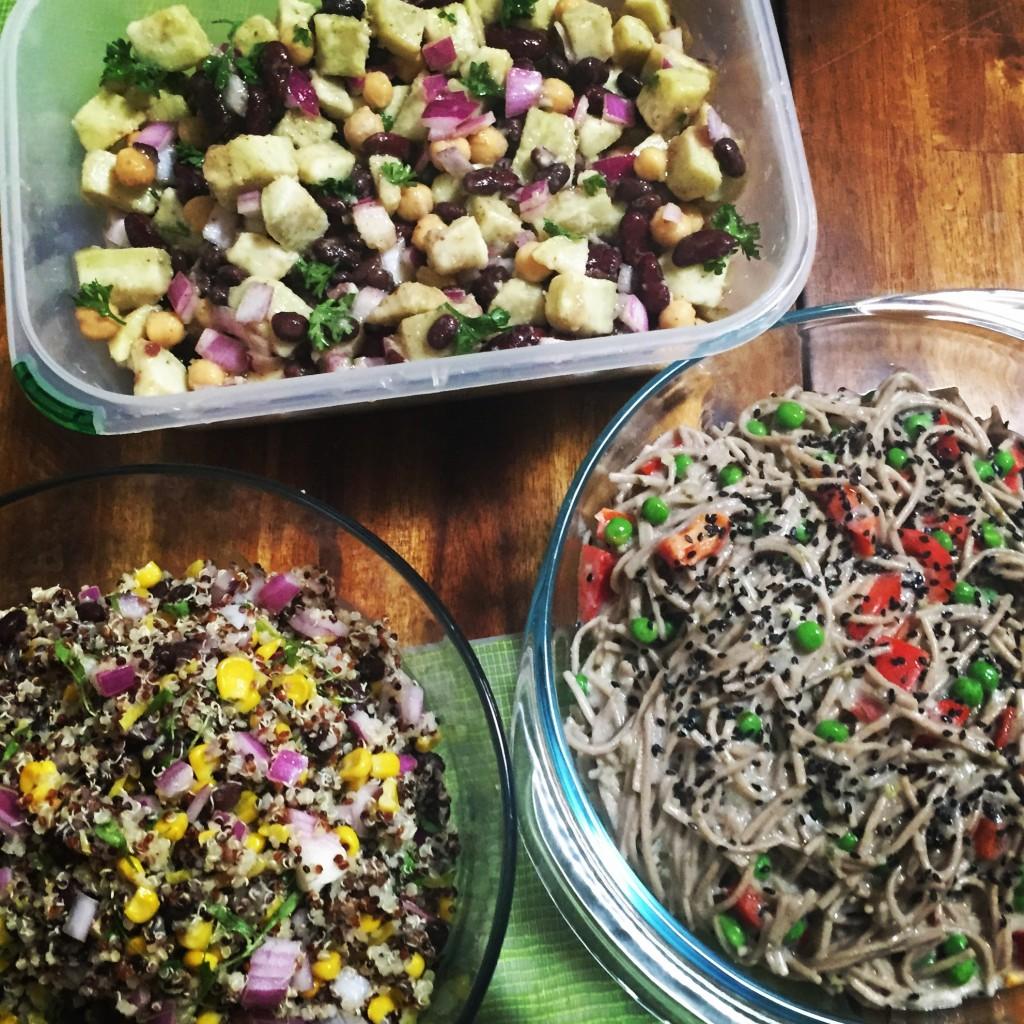 Summer Salad Recipes - Vegan & Gluten Free